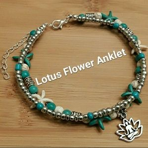 Jewelry - Lotus Anklet Nautical Anklet